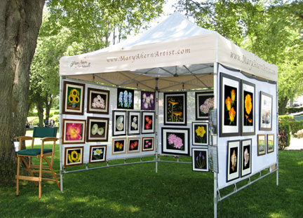 Northport art in the park annual event art naturally for Display tents for craft fairs